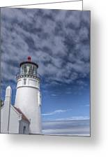 Light In The Sky Greeting Card by Jon Glaser