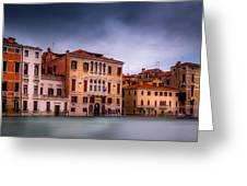 Light In Venice Greeting Card