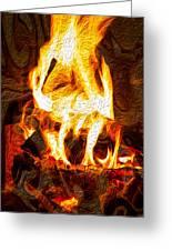 Light My Fire I Greeting Card