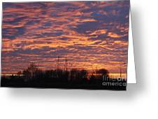 Light My Sky Greeting Card