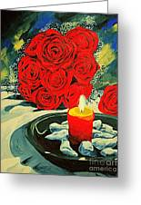 Light Of Love Greeting Card
