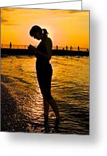 Light Of My Life Greeting Card