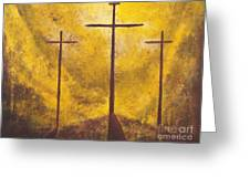 Light Of Salvation Greeting Card