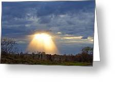 Light Of The Heavens Greeting Card