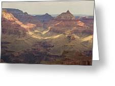 Light On The Canyons Greeting Card