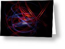Light Painting 1 Greeting Card