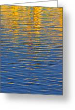 Light Reflections On The Water Greeting Card