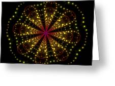 Light Show Abstract 3 Greeting Card