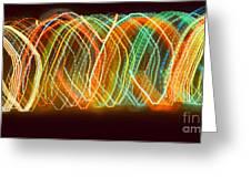 Light Show I Greeting Card