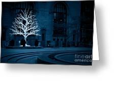 Light Snow Greeting Card