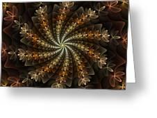 Light Spiral Greeting Card