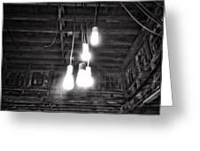 Lightbulbs Greeting Card