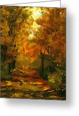 Lighted Trail Greeting Card