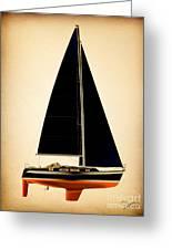 Lightening Sails Greeting Card