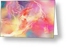 Lighthearted - Abstract Art Greeting Card