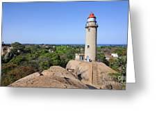 Lighthouse At Mamallapuram Greeting Card