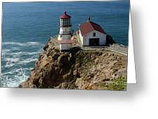 Lighthouse At Point Reyes Greeting Card