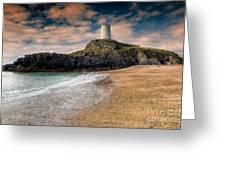 Lighthouse Beach Greeting Card