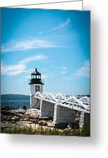 Lighthouse Greeting Card by Belinda Dodd