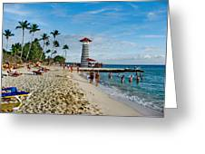 Lighthouse.  Dominican Republic.  Greeting Card