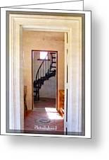 Lighthouse Door Greeting Card