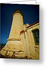 Lighthouse Down Greeting Card
