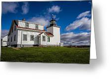 Lighthouse Fever Greeting Card by Robert Clifford