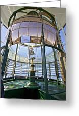 Lighthouse First Order Fresnel Lens Greeting Card