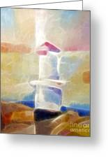 Lighthouse Glow Greeting Card