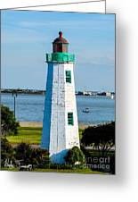 Lighthouse Hdr Greeting Card