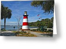 Lighthouse In Mount Dora Greeting Card