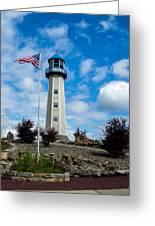 Lighthouse Island Greeting Card