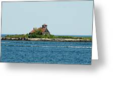 Lighthouse Keepers Residence Greeting Card