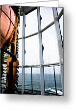 Lighthouse Lens Greeting Card