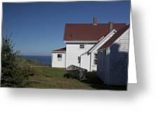 Lighthouse Monhegan Color Greeting Card