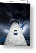 Lighthouse On Boblo Island Greeting Card
