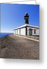 Lighthouse On Hierro Greeting Card