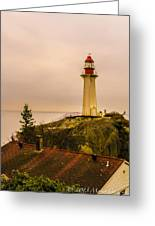 Lighthouse Park I Greeting Card