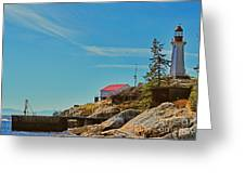 Lighthouse Park Greeting Card