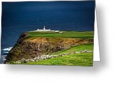 Lighthouse Ponta Do Albernaz Greeting Card