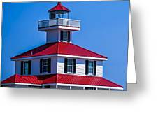 Lighthouse Pontchartrain Greeting Card