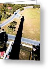 Lighthouse Shadow Greeting Card