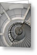 Lighthouse Stairs 2 Greeting Card