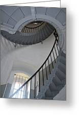 Lighthouse Stairs 3 Greeting Card
