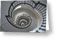 Lighthouse Stairs 4 Greeting Card