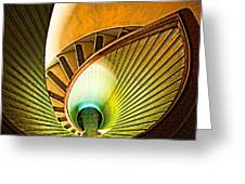Lighthouse Stairway - Point Loma San Diego Greeting Card
