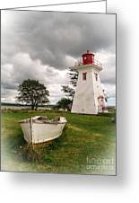 Lighthouse Victoria By The Sea Pei Greeting Card