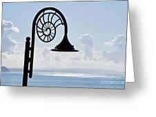 Lighting Up The Ocean Greeting Card