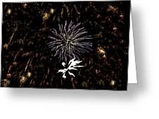 Lighting Up The Sky Greeting Card