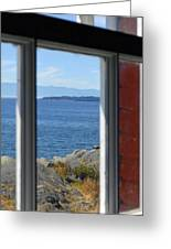 Lightkeepers View Greeting Card